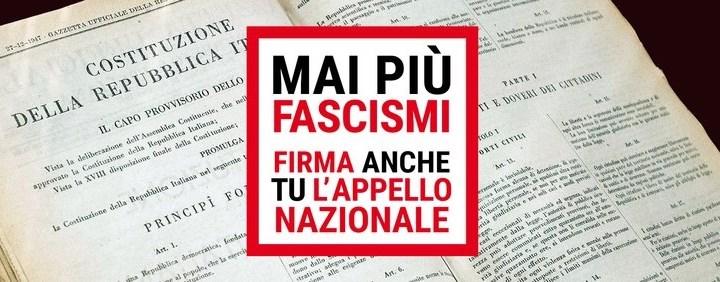"""24 febbraio/ Roma/ Manifestazione """"Mai più fascismi"""""""