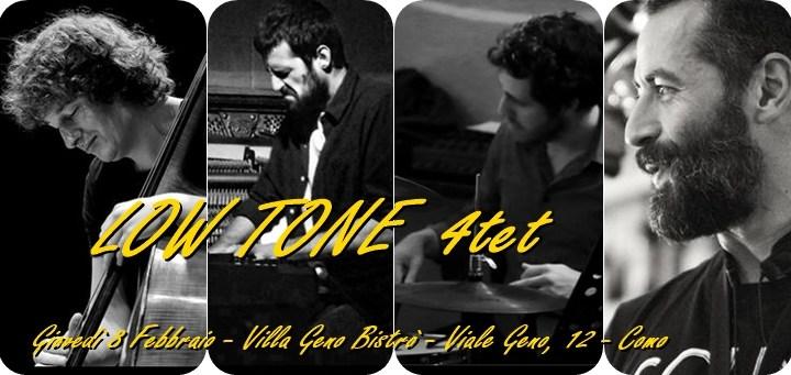 8 febbraio/ LowTone Quartet a Villa Geno