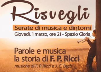 1 marzo/ Nuovi Risvegli in musica allo Spazio Gloria
