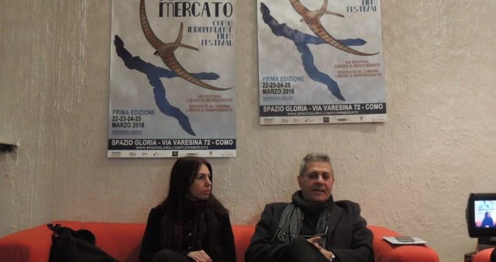 """""""Fuori mercato"""" allo Spazio Gloria// All'ingresso distribuzione del mensile ecoinformazioni"""