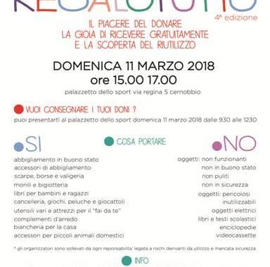 11 marzo/ Cernobbio/ Regalotutto