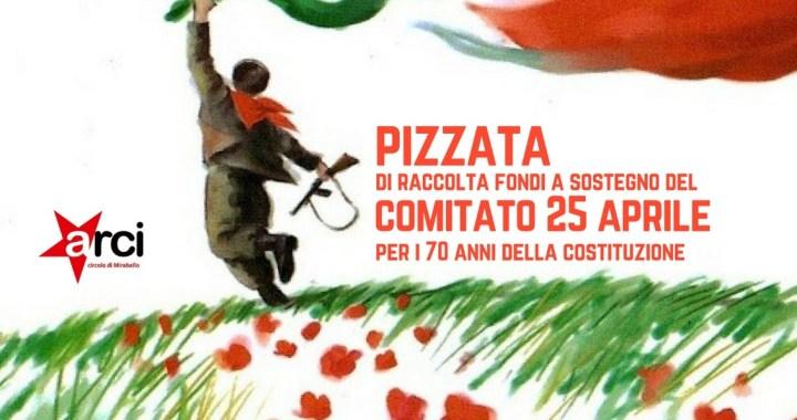 17 marzo/ Cantù Mirabello/ Comitato 25 Aprile: pizzata di autofinanziamento