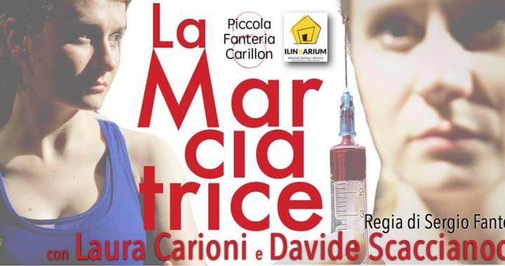 """7 aprile/ Cantù Mirabello/ """"La marciatrice"""""""