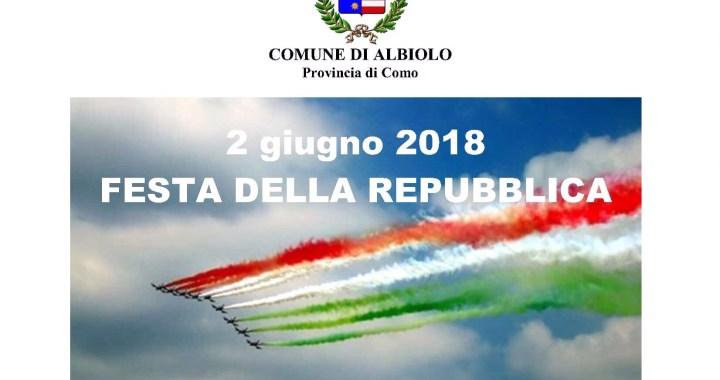 2 giugno/ La Festa della Repubblica ad Albiolo