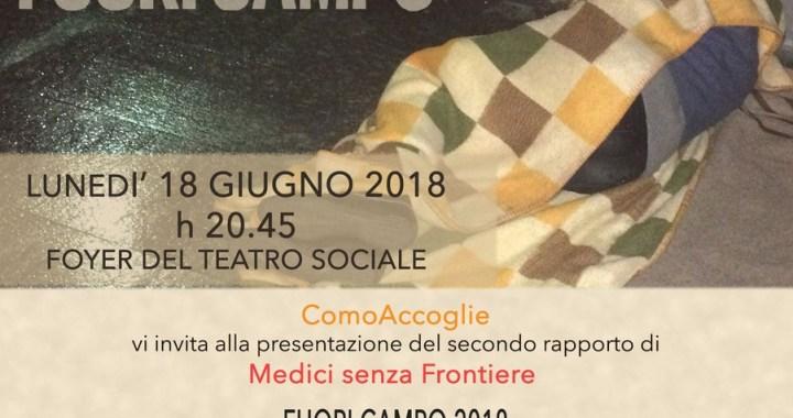 18 giugno/ Fuori campo 2018: II rapporto di Medici senza frontiere