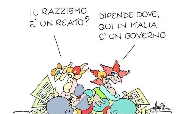 Luca Michelini/ L'ebrezza del razzismo politico