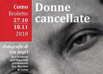 Fino al 18 novembre/ Donne cancellate, in mostra dall'Ospedale Psichiatrico al Broletto