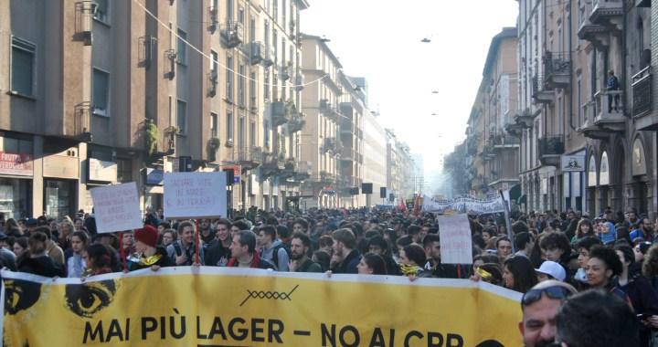 A Milano continua la lotta/ No CPR, mai più lager