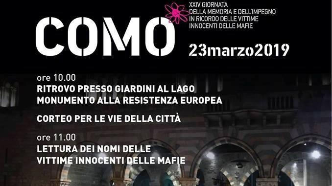23 marzo/ Giornata della memoria e dell'impegno contro le mafie