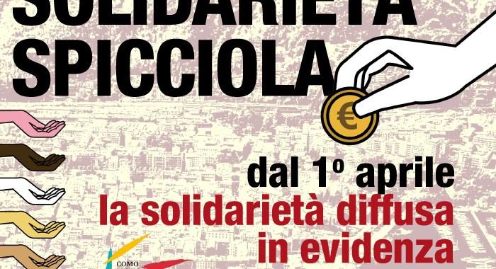 Dal 1° aprile/ Solidarietà spicciola