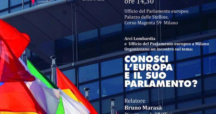 9 aprile/ Milano/ Conosci l'Europa e il suo Parlamento?
