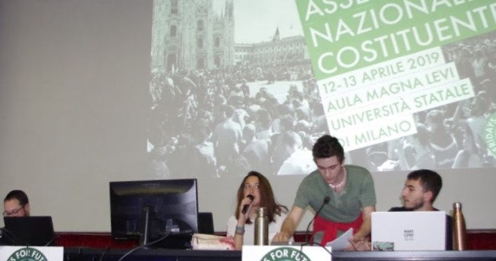 Fridays for future/ Documento finale dell'Assemblea costituente