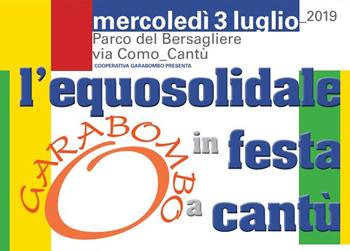3 luglio/ Equosolidale in festa a Cantù