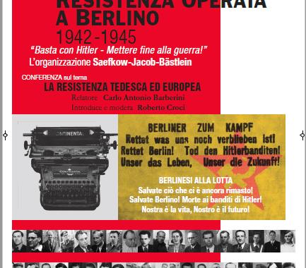 24 ottobre/ Lurago d'Erba/ la resistenza tedesca ed europea