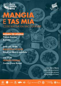 26 ottobre – Notte dei senza dimora 2: Mangia e tas mia