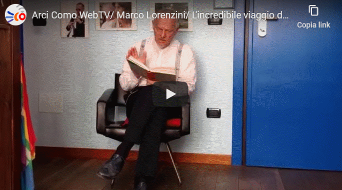 23 marzo/ Arci WebTV/ Fiabe per bambini con Marco Lorenzini