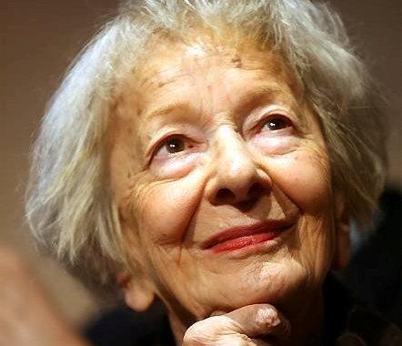Celeste Grossi nella Piazza virtuale dell'8 marzo a Como con Wislawa Szymborska