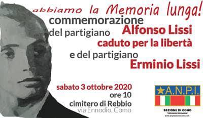 3 ottobre/ Ricordando Alfonso ed Erminio Lissi
