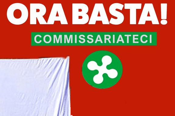27 marzo/ Lenzuolata Commissariate la Lombardia