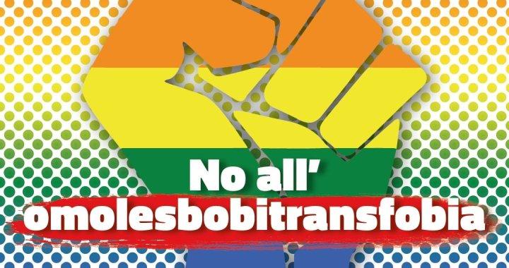 Giornata contro l'omolesbobitransfobia