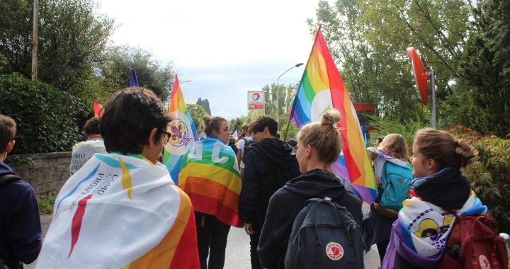 10 ottobre/ Da Como alla Marcia PerugiAssisi