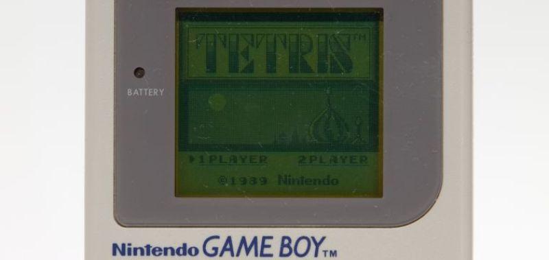 seconda immagine - schermata iniziale tetris
