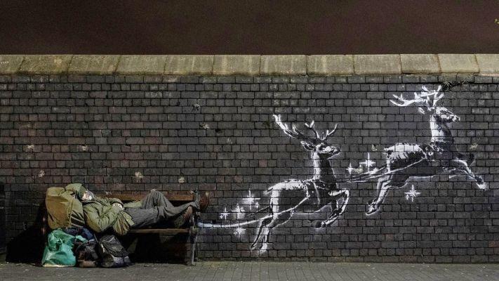 C'era una volta Babbo Natale, su una panchina