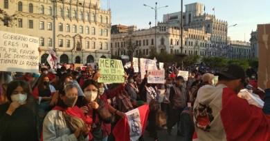 proteste perù