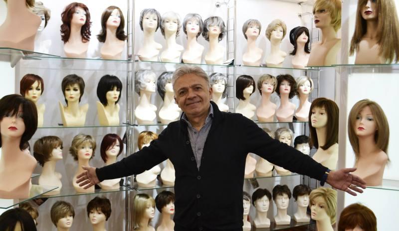 Francesco puglisi parrucche donne