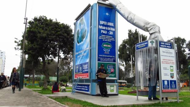 Pau 20 purificador de aire urbano for Como purificar el aire contaminado