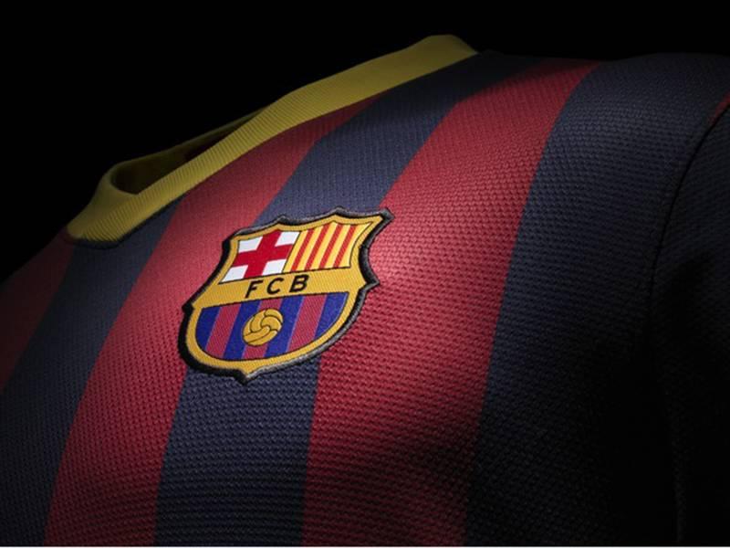 camiseta de plastico fc barcelona