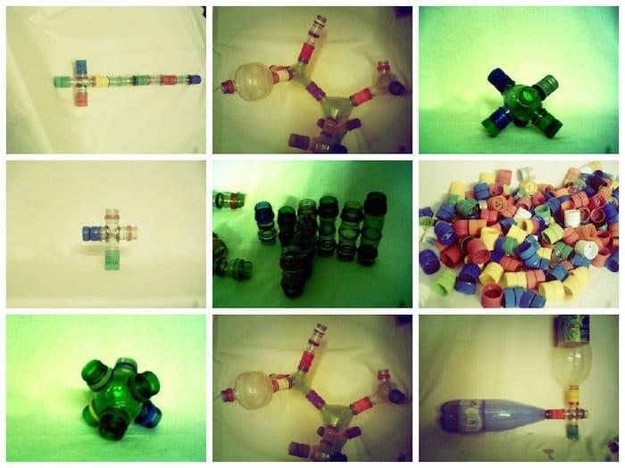 Reciclestein. Juguete didáctico con materiales reciclados