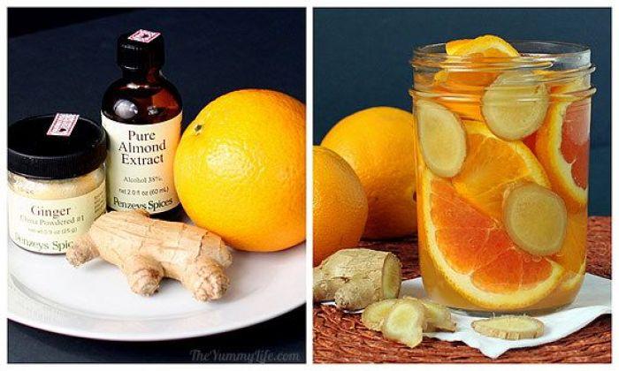 Aromatizante casero receta naranja