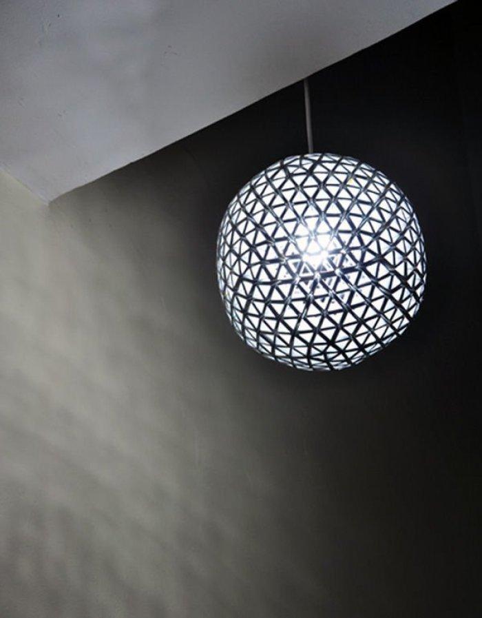 Tetrabox Lamp. Lámpara con tetrabriks