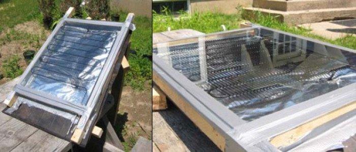 Como hacer un calentador solar casero