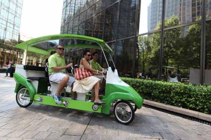 Autobús - Bicicleta para 9 pasajeros convención republicana