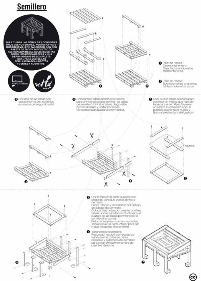 planos para construir muebles reutilizando palets On planos silla ergonomica pdf