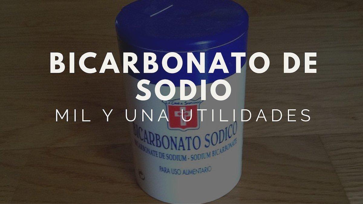 Bicarbonato de sodio. Mil y una utilidades