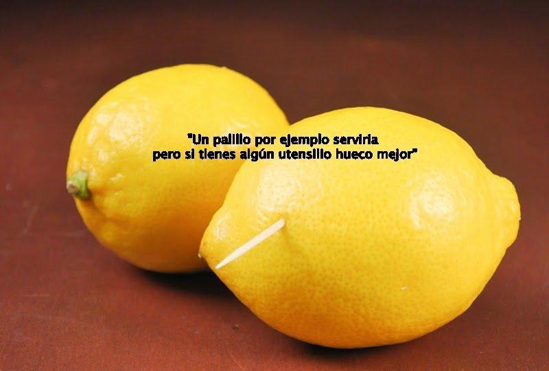 Limón palillo