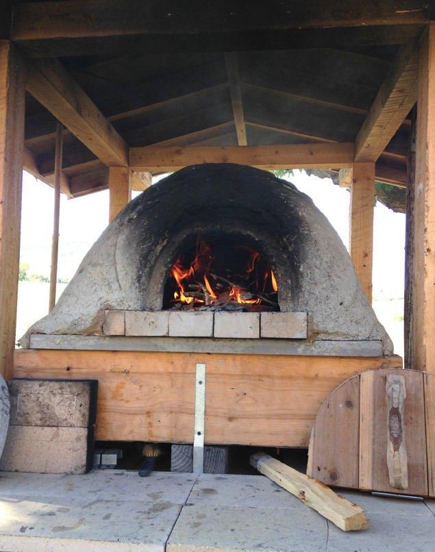 hacer horno de lena