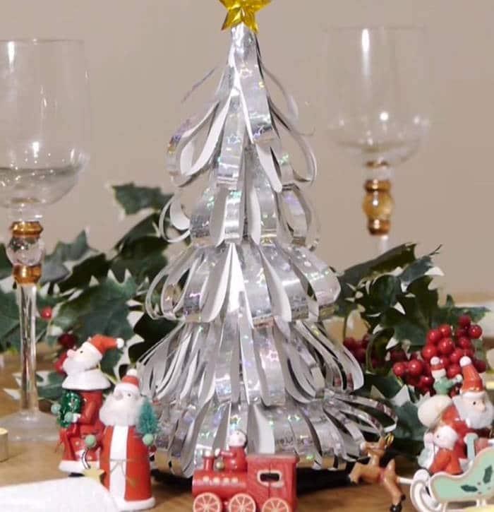 3 propuestas para hacer un rbol de navidad casero - Hacer adornos para el arbol de navidad ...