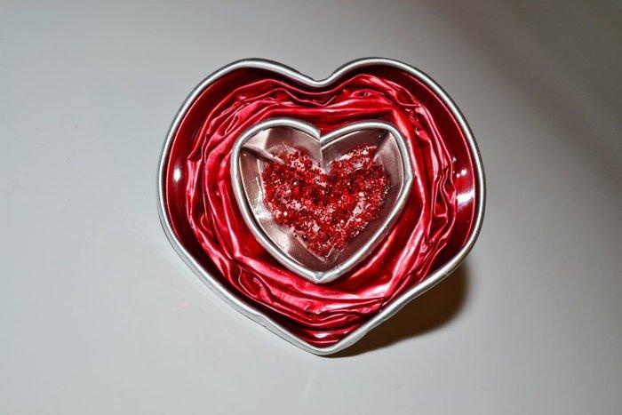 Anillo San Valentín con capsulas nespresso