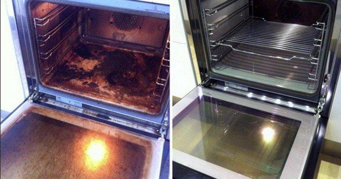 Como limpiar el horno sin productos químicos