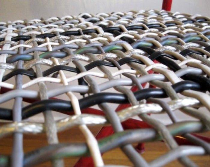 C mo arreglar una silla reusando cables electr nicos - Como arreglar el asiento de una silla ...