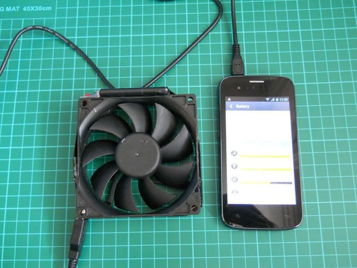 Como hacer un cargador eólico de smartphones para bicicletas1
