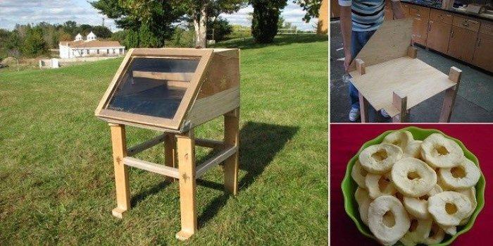 Como hacer un deshidratador de comida solar casero