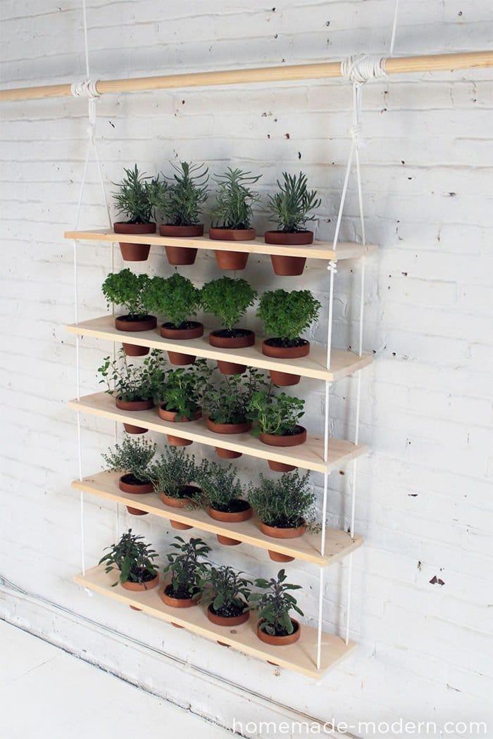 Como hacer un jardín colgante casero 5
