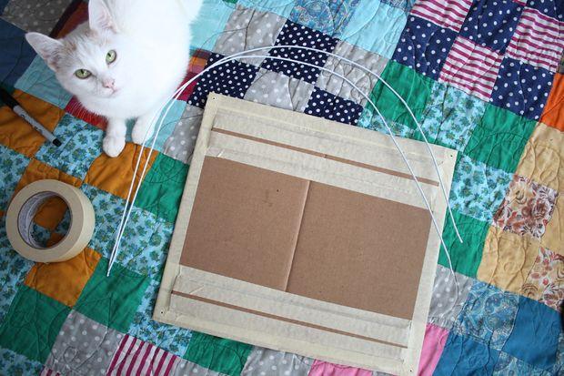 Como hacer una casita para tu gato 3