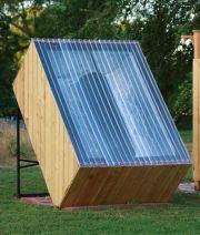 Cómo hacer una ducha solar al aire libre