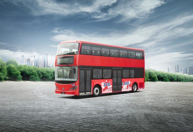 Autobus electrico dos plantas Londres